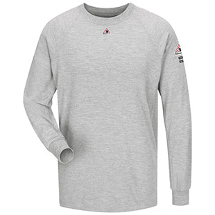 c9128404fe23 Bulwark Flame Resistant CoolTouch 2 Long Sleeve Performance T-Shirt - Click  for Large View