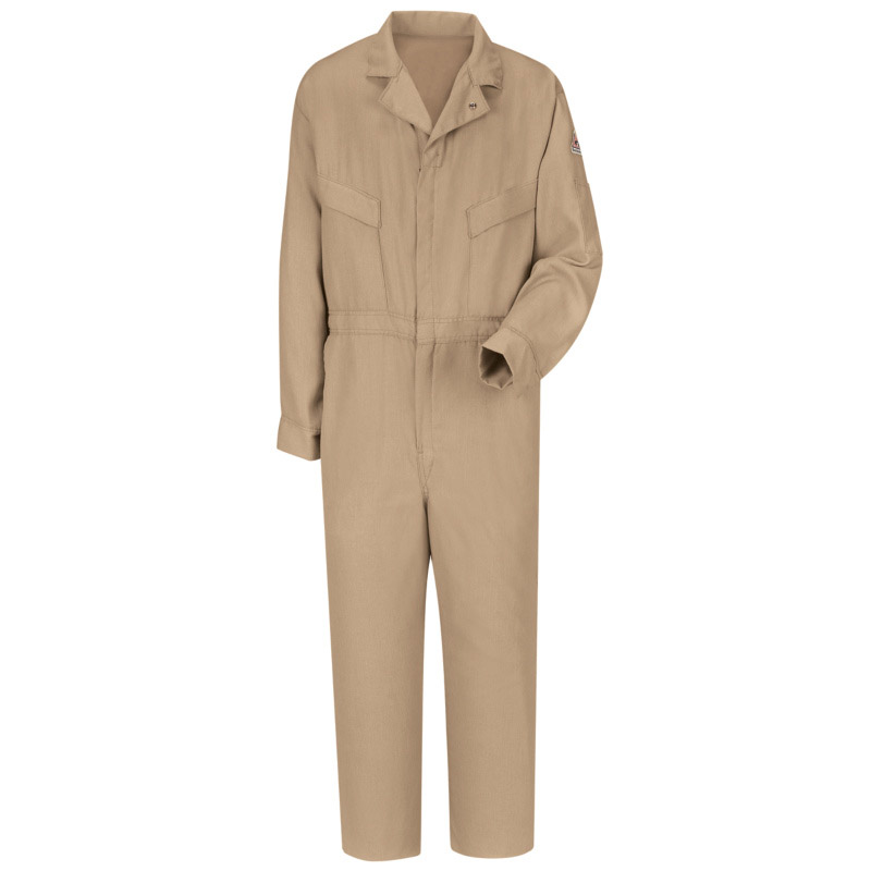 Bulwark flame resistant cooltouch 2 deluxe coverall cmd4 for Bulwark flame resistant shirts