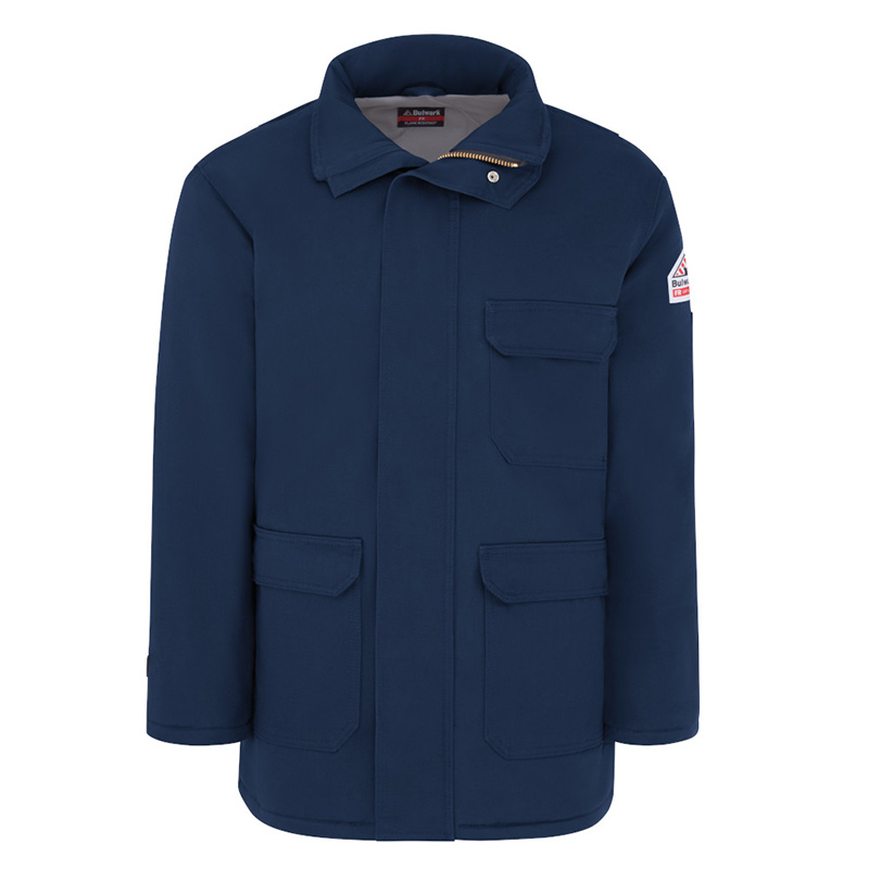 Bulwark flame resistant excel fr comfortouch parka jlp8 for Bulwark flame resistant shirts