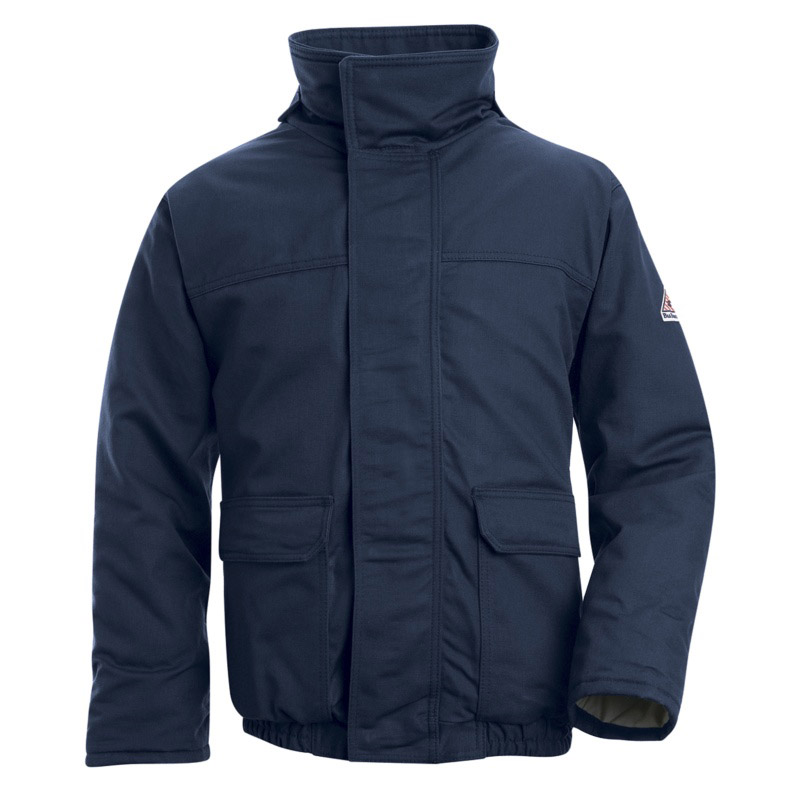 Bulwark Flame Resistant Insulated Cotton Blend Bomber
