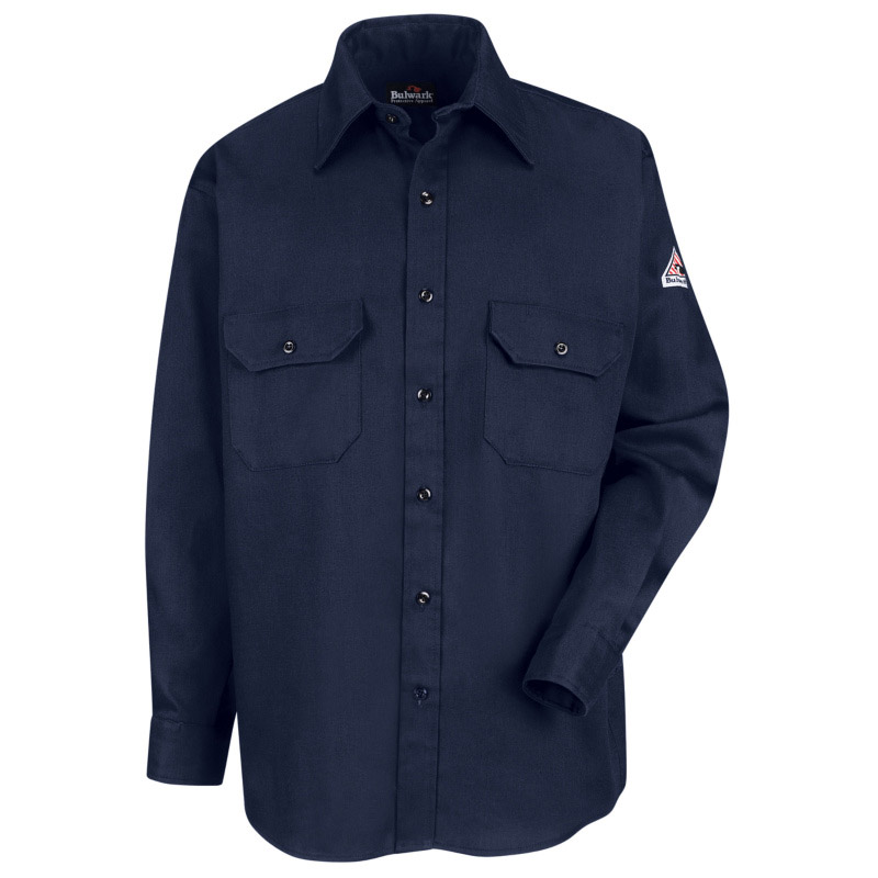 Bulwark flame resistant excel fr comfortouch uniform shirt for Bulwark flame resistant shirts