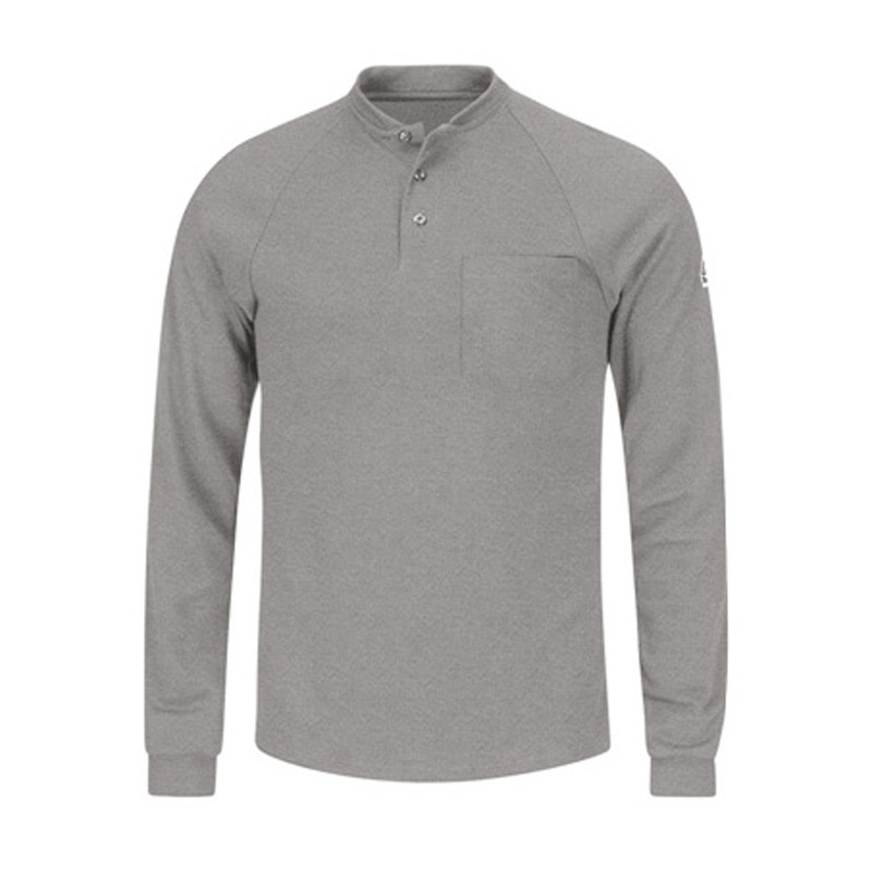 Bulwark flame resistant cool touch 2 tagless long sleeve for Bulwark flame resistant shirts