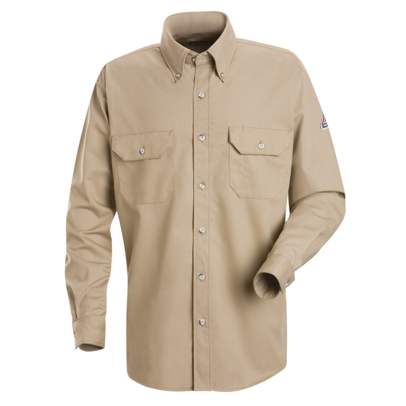 Bulwark flame resistant cool touch 2 long sleeve shirt for Bulwark flame resistant shirts