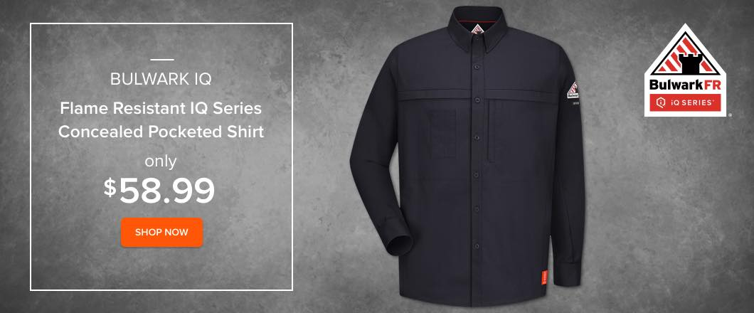 Flame Resistant Uniforms Bulwark IQ QS20 Shirt